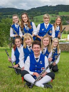 Musiker an der Klarinette